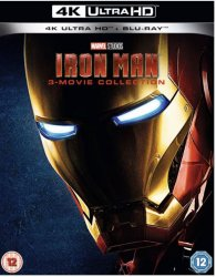 Iron Man Trilogy - Iron Man 1-3 4K Ultra HD + Bluray (import)
