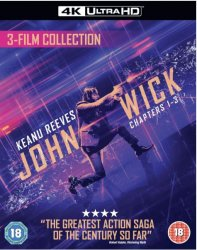 John Wick 1-3 Trilogy 4K Ultra HD + Bluray (import)
