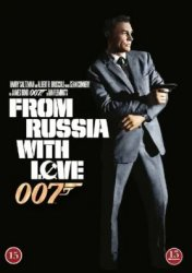007 James Bond - From Russia with love/Agent 007 ser rött DVD