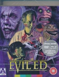 evil ed limited edition bluray dvd