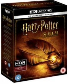 harry potter complete collection 4k uhd bluray