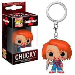 Pocket POP keychain Horror Chucky Bloody Exclusive