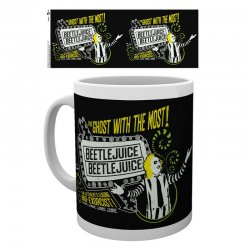 Beetlejuice Ghost With The Most mug