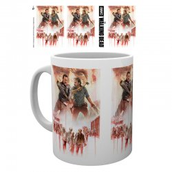 The Walking Dead Season 8 Illustration mug