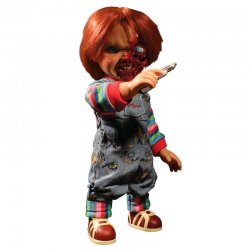 Chucky Childs Play 3 Chucky Pizza Face talking figure 38cm