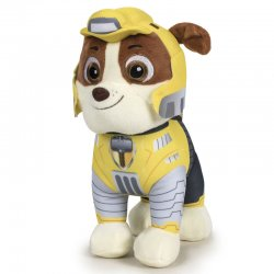 Paw Patrol Mighty Rubble soft plush toy 20cm