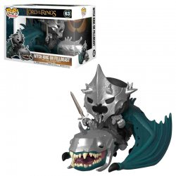 POP figur Lord of the Rings Häxkungen med Fellbeast