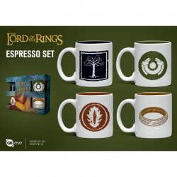 Lord of the Rings espresso cup set