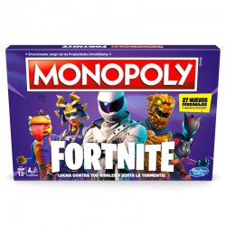 Monopoly Fortnite Spanish game