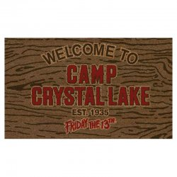 Friday the 13th Welcome to Camp Crystal Lake doormat