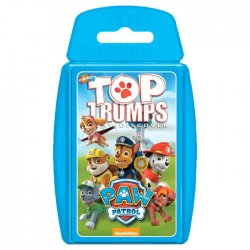 Paw Patrol Top Trumps spanish game