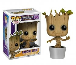 POP figur Marvel Guardians of the Galaxy Dansande Groot