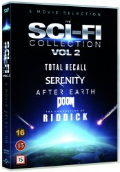 sci-fi collection vol 2 dvd