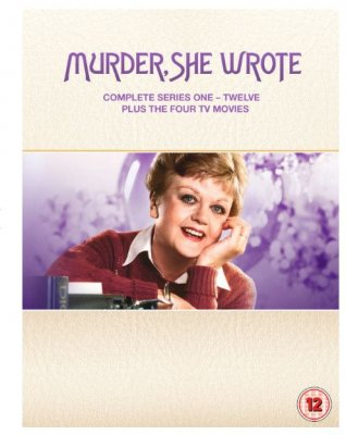 Murder She Wrote Series 1 to 12 1984 DVD (import)