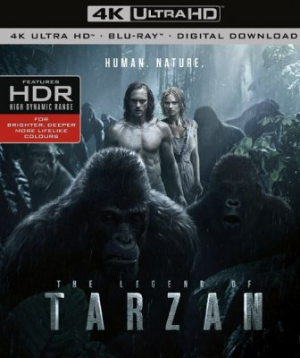 The Legend Of Tarzan 4K Ultra HD