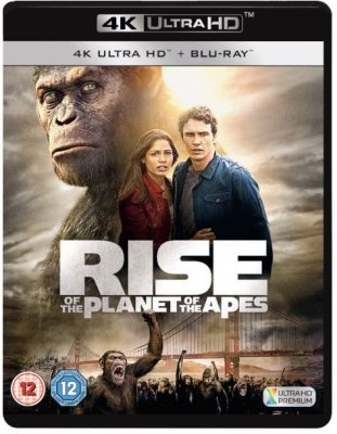 Planet Of The Apes - Rise Of The Planet Of The Apes 4K Ultra HD