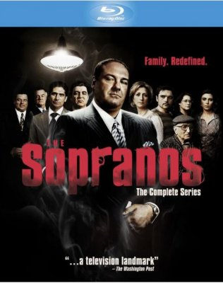 The Sopranos säsong 1-6 Complete Collection bluray (import)