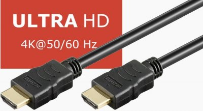 Goobay HDMI-kabel, Ultra HD 4K, 15 meter