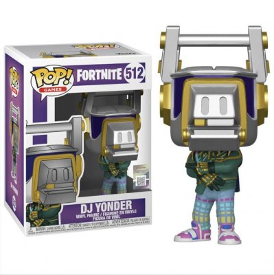 Funko POP figure Fortnite DJ Yonder