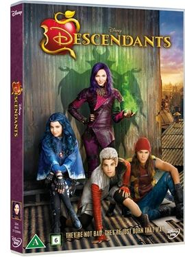 Disneys Descendants DVD