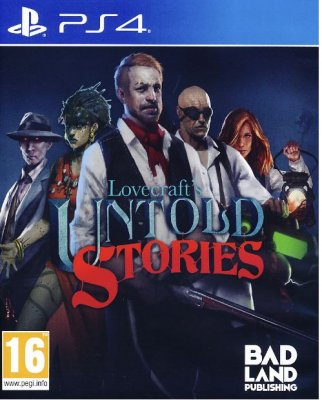 Lovecrafts Untold Stories PS4
