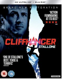 Cliffhanger 4K Ultra HD + Blu-Ray (import)