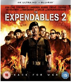 The Expendables 2 4K Ultra HD + Blu-Ray (import)