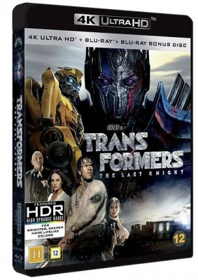 Transformers: The Last Knight (UHD+BD) 4K