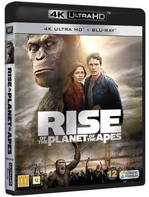 Rise of the Planet of the Apes (UHD+BD) 4K
