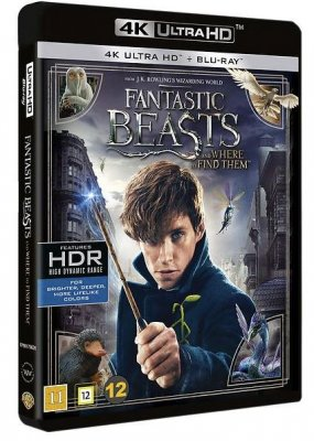 Fantastic Beasts and Where to Find Them (UHD+BD) 4K