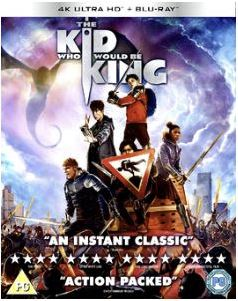 The Kid Who Would Be King 4K Ultra HD + Bluray (import)