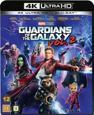 Guardians Of The Galaxy - Volume 2 4K Ultra HD (import med svensk text)