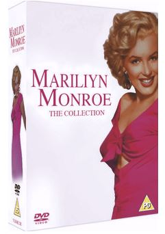 Marilyn Monroe - The Collection (7 Filmer) DVD (import)