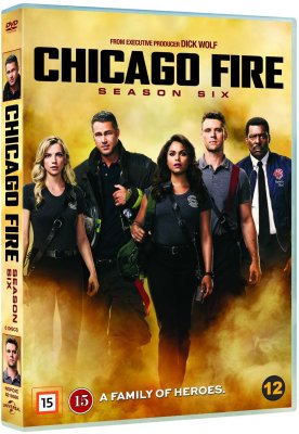 chicago fire säsong 6 dvd