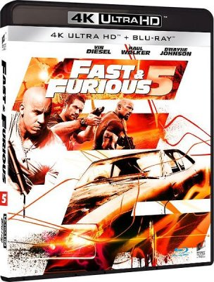 fast and furious 5 4k uhd bluray