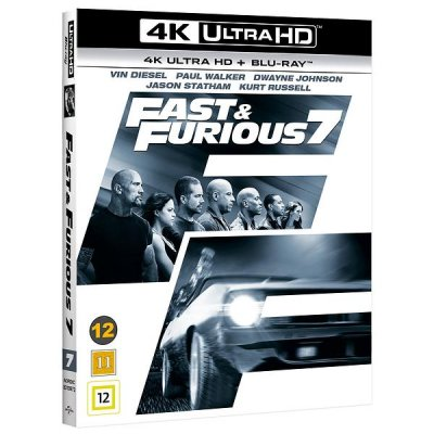 fast and furious 7 4k uhd bluray