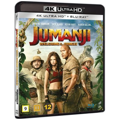 jumanji welcome to the jungle 4k uhd bluray