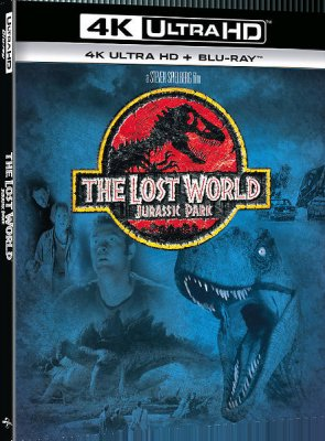 jurassic park the lost world 4k uhd bluray