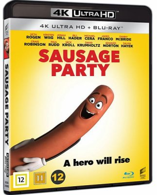 sausage party 4k uhd bluray