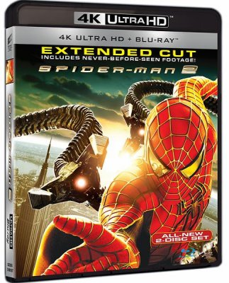 spiderman 2 4k uhd bluray