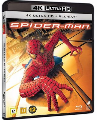 spiderman 4k uhd bluray