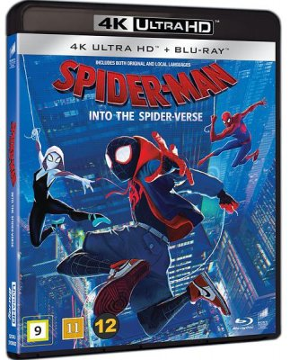 spiderman into the spider-verse 4k uhd bluray