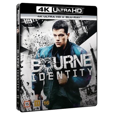 the bourne identity 4k uhd bluray